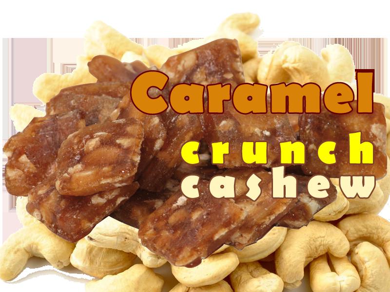 Caramel Crunch Cashew Popcorn - That Popcorn Shack
