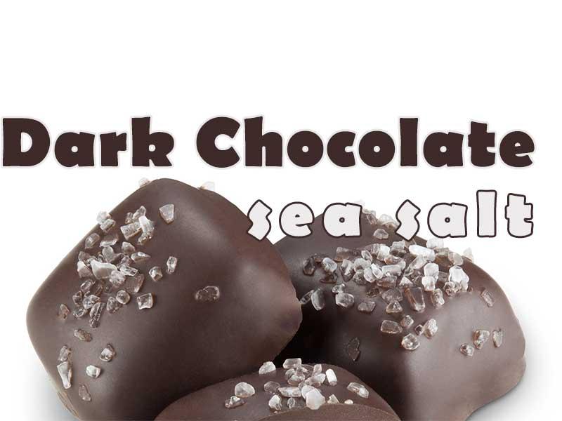Dark Chocolate Sea Salt Popcorn - That Popcorn Shack