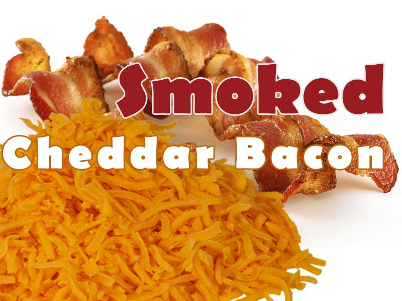 Smoked Cheddar Bacon Popcorn - That Popcorn Shack